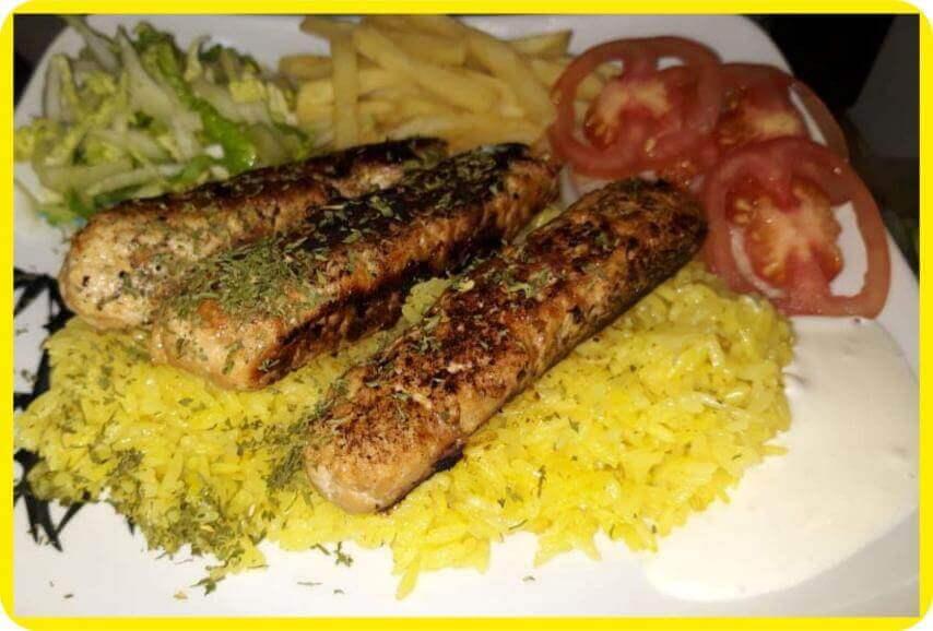 Chicken Kabab Rice 2.5% CashBack